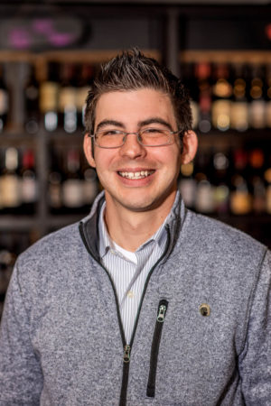 Blue Goat Wine Manager Ryan Rozycki